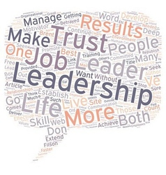 Make Your Leadership Your Life And Your Life Your vector image vector image