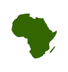 Africa-map vector