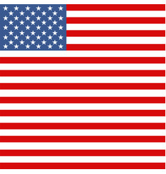 american flag for fourth july vector image