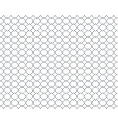 chain link fence wire vector image