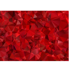 Garnet red abstract background polygon vector