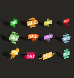 Sale advertising banner layout special offer vector