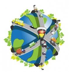 speedway vector image