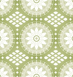 Russian lace pattern vector image vector image
