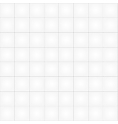 White tile seamless pattern background vector image vector image