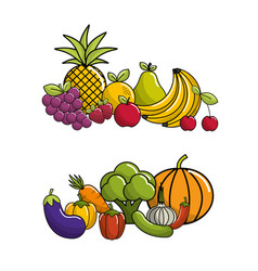 Biological food icon stock vector