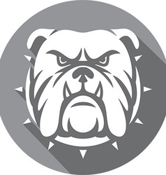 Bulldog Icon vector