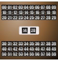 clock retro clock clock vector image