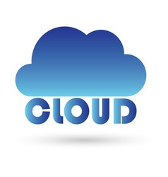 cloud1a resize vector image
