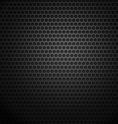 Dark metal cell background vector