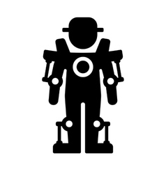 Exoskeleton icon vector