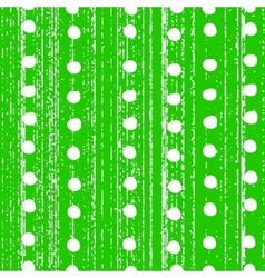 pattern with white polka dots vector image