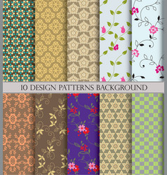 Patternpattern fills web page backgroundsurface vector