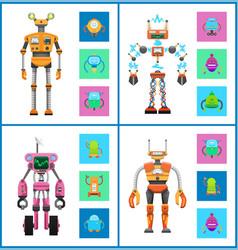 Robot and mechanisms set vector