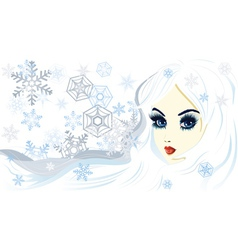 Snow queen2 vector