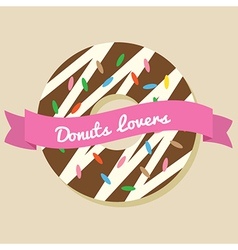 Donuts Lover vector image