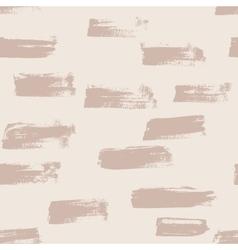 Seamless nude handmade abstract brush vector image vector image