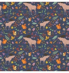 Fall Sketch Pattern vector image