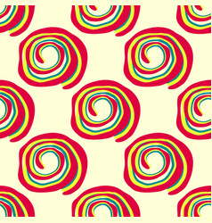 abstract colored seamless pattern vector image