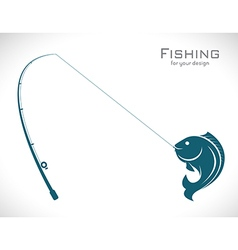 Fishing vector