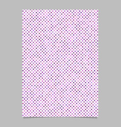 Geometrical star pattern background brochure vector