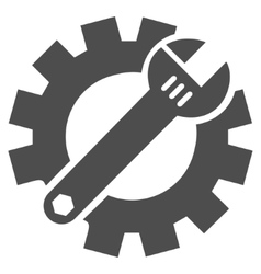 Mechanics Service Tools Flat Icon vector