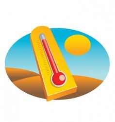 mometer desert vector image