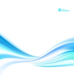 Shining blue flow vector