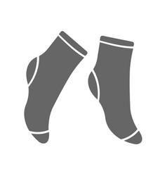 socks icon premium socks icon design from clothes vector image