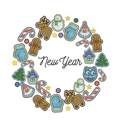 Winter holidays vector image