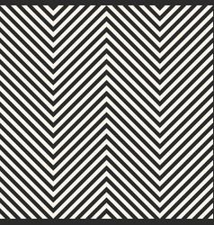 Zigzag stripes seamless pattern herringbone vector