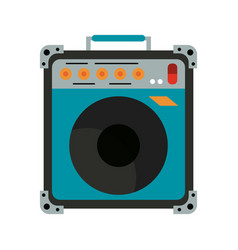 guitar amplifier technology vector image