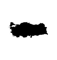 map - turkey vector image