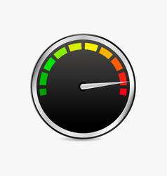 speed test meter vector image vector image