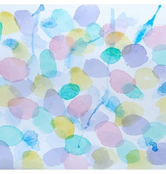 Abstract Watercolor Splashes Background vector image vector image