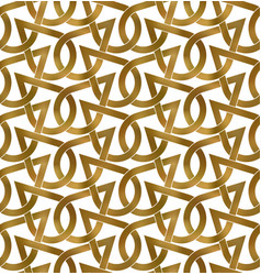 Abstract repeatable pattern background golden vector