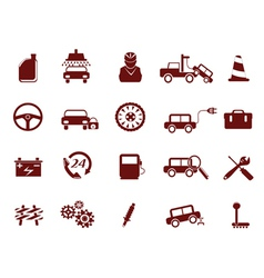 Auto Car Service Icon vector image