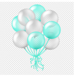 balloon in transparent background vector image