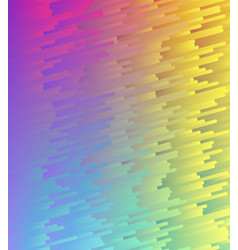 Color gradient abstract pattern vector