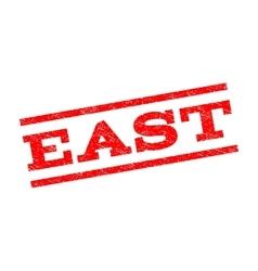 East Watermark Stamp vector