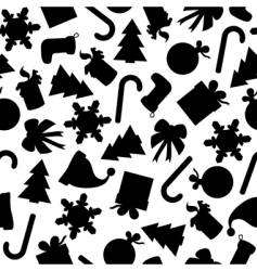 festive seamless vector image