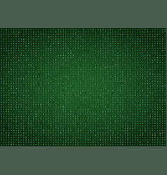 green computer code background vector image