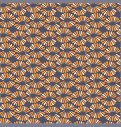 seamless contrast pattern with retro vector image
