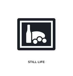 Still life isolated icon simple element from vector