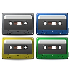 Tapes vector image