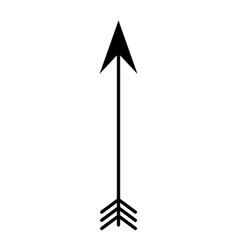 arrow boho style icon vector image vector image