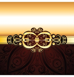 Red Decorative Background2 vector image vector image
