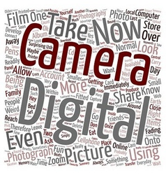 Online Photo Albums text background wordcloud vector image