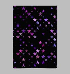 Abstract geometric pentagram pattern background vector