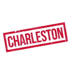 Charleston rubber stamp vector